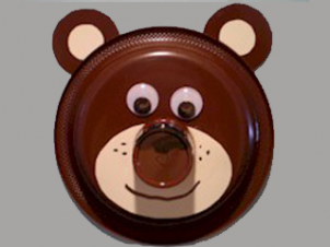 Brown Bear Paper Plate Craft