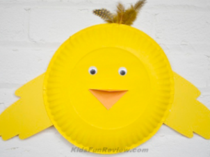 Little Bird Paper Plate Craft