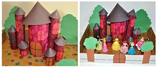Castle Projects for Kids | Toilet Paper Roll