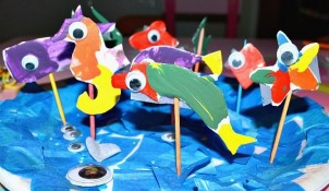 Ocean Craft Made With Paper Plates